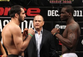 ODDS: Mousasi -350, Saint Preux +250