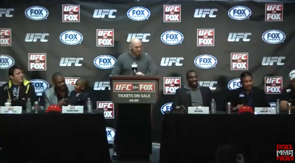 Watch tonight's UFC on FOX 2 post-fight press conference LIVE on ProMMAnow.com