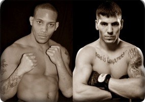 MIke Easton(left) will face Jared Papazian at the UFC on FX event