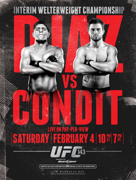 NFL football players' picks for UFC 143