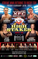 XFC 16 will take place on February 10 in Knoxville, TN.