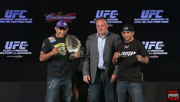 UFC 142 preview: Jose Aldo looks to take out biggest threat to date in Chad Mendes