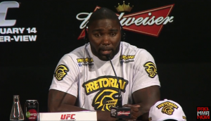 "Anthony ""Rumble"" Johnson deservedly moves up to No. 5 in the UFC Light Heavyweight Rankings"