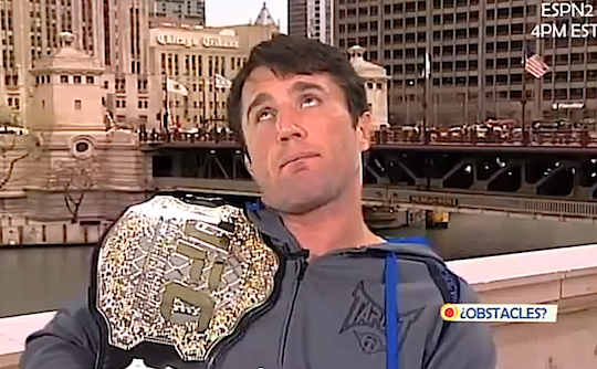 Chael sonnen interview dan le batard webcam