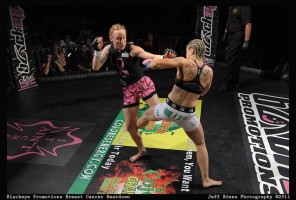 patricia vidonic at breast cancer beatdown-blackeye promotions