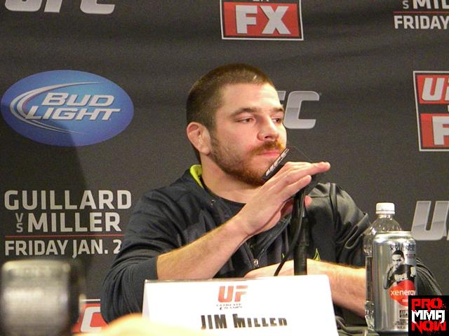 Gray Maynard out, Jim Miller in for UFC 155