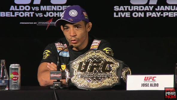Jose Aldo, UFC