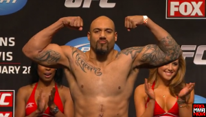 UFC Heavyweight LavarJohnson