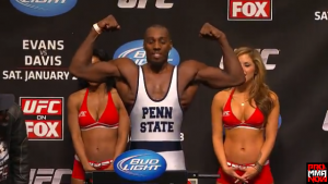 Has Phil Davis made the mistake of looking past his opponent Anthony Johnson?