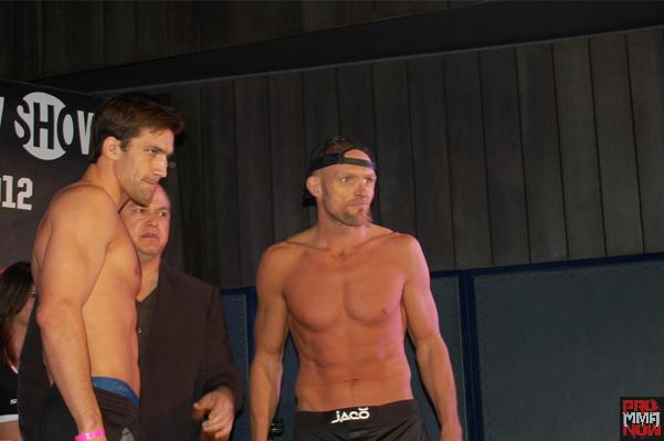"Pictures: ""Strikeforce: Rockhold vs. Jardine"" weigh-ins"