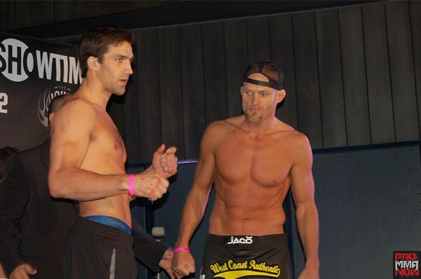 """Strikeforce: Rockhold vs. Jardine"" weigh-in video and pre-fight interviews"