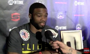 tyron woodley-post-fight interview