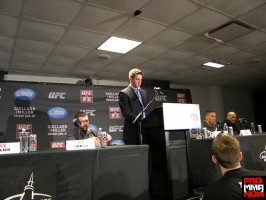 ufc on fox post fight presser