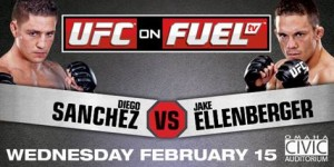 ufc on fuel tv-sanchez vs ellenberger