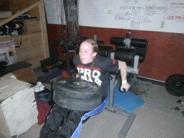 patricia vidonic doing dips training