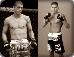 Joe Lauzon(left) will face Anthony Pettis at UFC 144