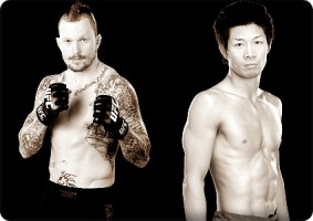 Bart Palaszewski will face Hatsu Hioki at UFC 144 in Japan