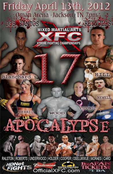 The Vidonic Chronicles: I will fight Felice Herrig at XFC 17