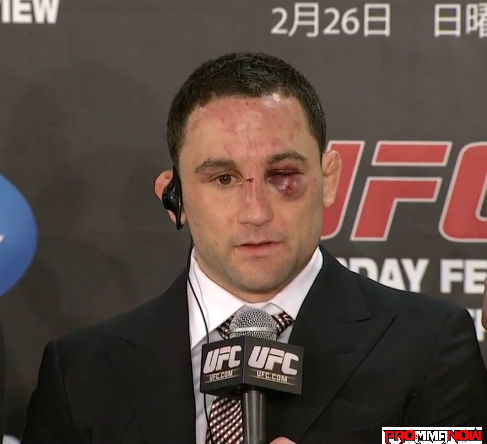 Pictures: UFC 144 post-fight press conference