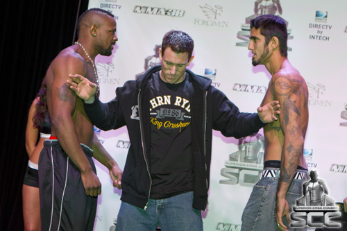 Superior Cage Combat 4 weigh-in results and photos
