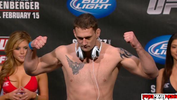 UFC 155: Phil De Fries replaces Rob Broughton and faces Matt Mitrione in December