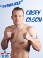 "WEC and Strikeforce veteran Casey ""The Underdog"" Olson (13-3) returns to action at Tachi Palace Fights 12 on March 9 after a nearly two year hiatus. Olson, a former Fresno State wrestler and product of John Hackleman's The Pit, will be dropping to bantamweight to face Visalia's Cody Gibson (5-2), who is coming off a 135 pound Tachi Palace title fight loss to Ulysses Gomez back in December."