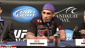 Watch the UFC 188 post-fight press conference live stream