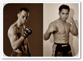 Rich Franklin(left) will face Cung Le at UFC 148
