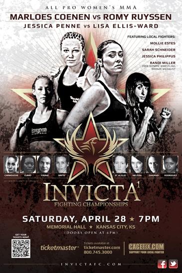 InvictaFC.com to stream inaugural all women's MMA event on April 28th