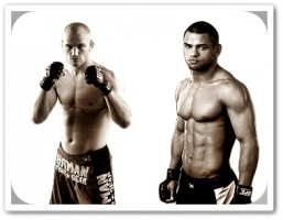 Martin Kampmann(left) will face Thiago Alves at the UFC on FX 2 event in Australia