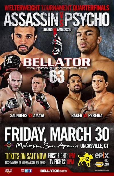 Bellator 63 LIVE results and play-by-play