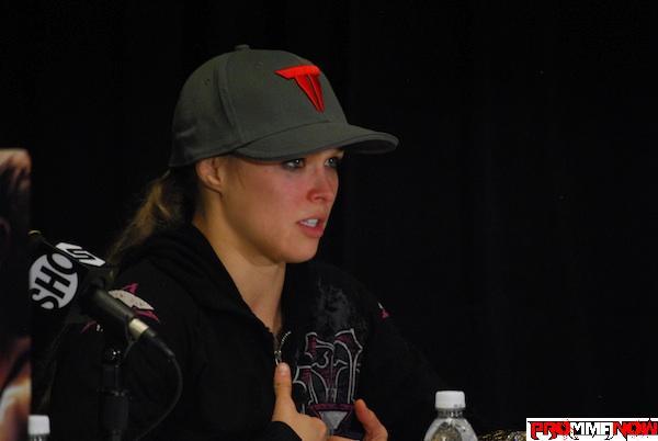 1st Quarter Radio: Ronda Rousey talks Kaufman, Tate, Cyborg and more
