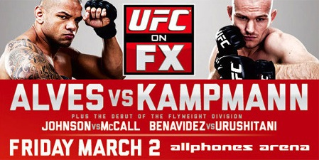 UFC on FX 2: Alves vs. Kampmann flash quotes and thoughts from Dana White
