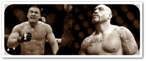 Pat Barry (left) will face Lavar Johnson at UFC on FOX 3