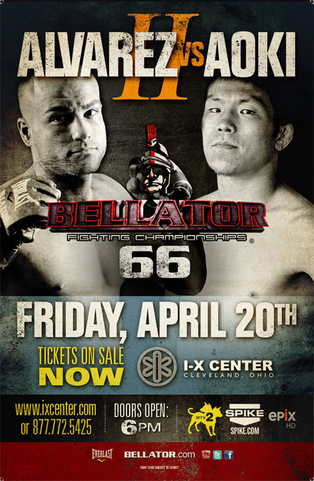 Bellator 66 LIVE results and play-by-play
