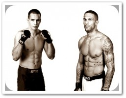 MacDonald(left) will face Che Mills at UFC 145