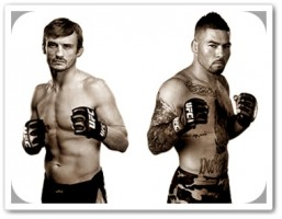 Brad Pickett(left) will face Damacio Page at UFC on FUEL 2