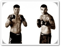 Brian Stann(left) will face Alessio Sakara at UFC on FUEL 2
