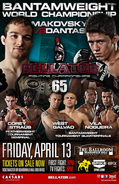Bellator 65 LIVE results and play-by-play