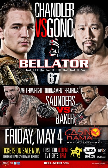 Bellator 67 results and play-by-play