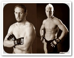 Mark Bocek (left) will face John Alessio at UFC 145