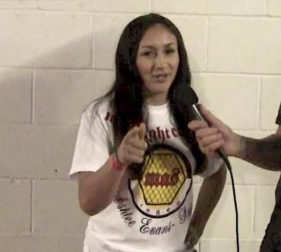 Carla Esparza: 'Jessica Aguilar, I want you'