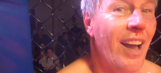 Fifty-three-year-old man fights in MMA event on one hour notice and wins