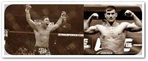 Shane del Rosario (left) will face Stipe Miocic at UFC 146