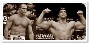 JDS (left) will face Frank Mir at  UFC 146
