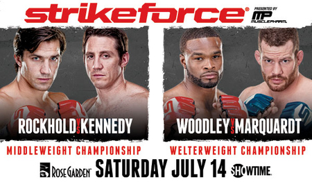 Strikeforce: 'Rockhold vs. Kennedy' set for Portland on July 11th with two title fights