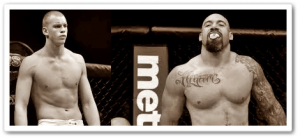 Stefan Struve(left) will face Lavar Johnson at UFC 146