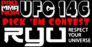 UFC 146 pick em contest