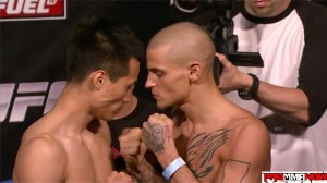 chan sung jung vs dustin poirier
