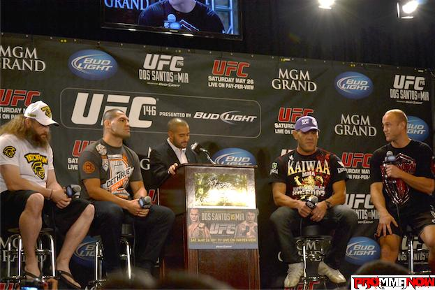 Watch the UFC 146 post-fight press conference LIVE on ProMMAnow.com